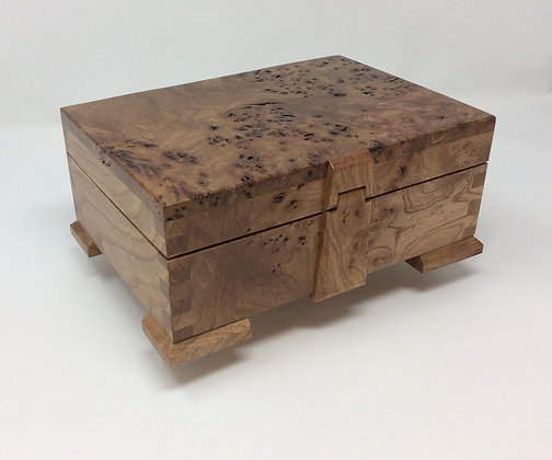 Burr Elm Box by Andrew Poder