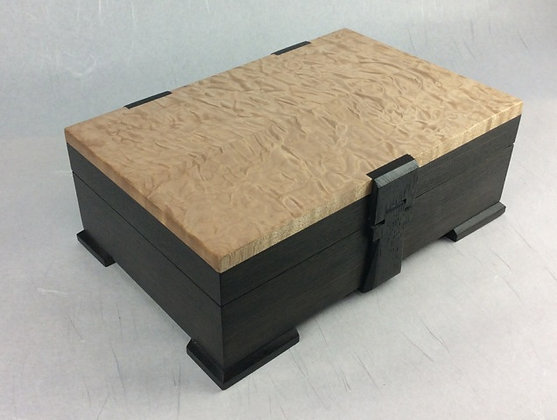 Bog Oak and Quilted Maple Box
