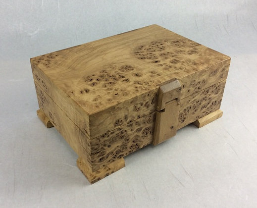 English Burr Oak Box