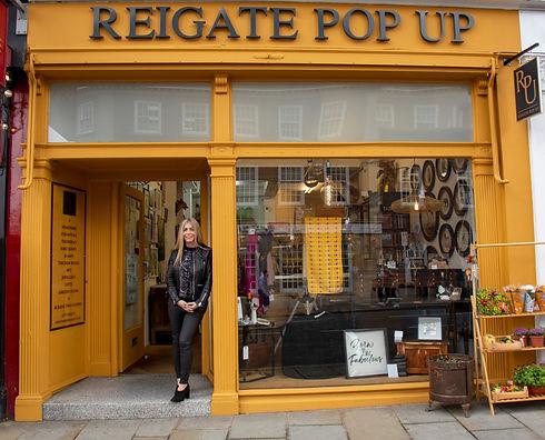 Reigate Pop Up Shop exterior