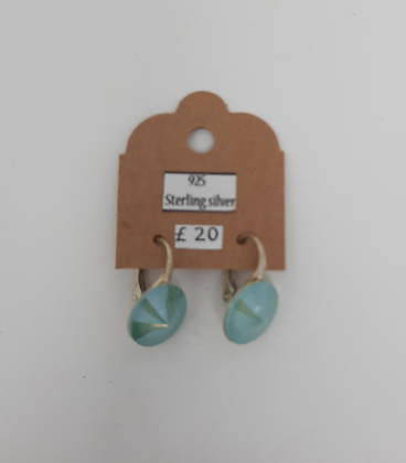 Kaziumiko Blue Earrings