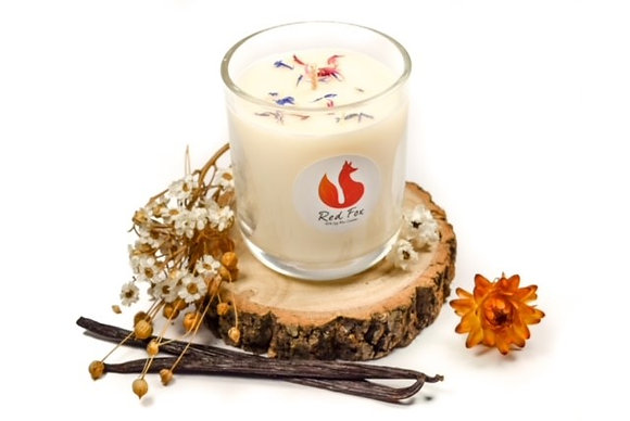 Vanilla Candle by Red Fox