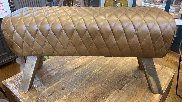 Genuine Leather Bench Pommel