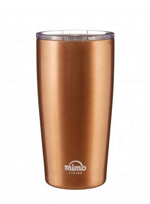 Metallic Gold Travel Mug