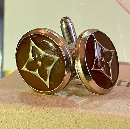 """""""LV Brown Cufflinks"""" by The Stylistic"""