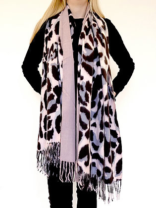 Betsy Blush leopard scarf by Olive&Me