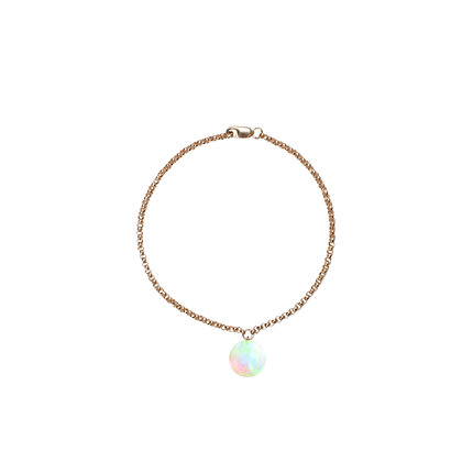 Opal Bracelet Gold Filled