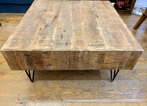 Mango Wood Square Coffee Table