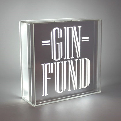 Gin Fund Money Box by Boom Creations