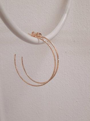 Delicate Gold Hoop earrings by Orea