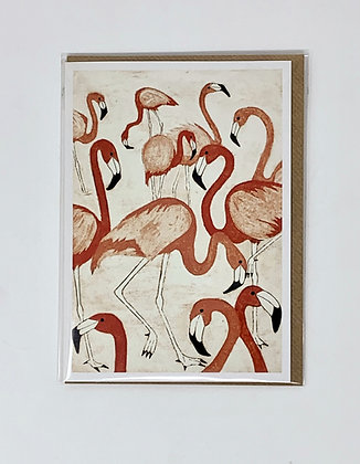 Flamingoes from St Mary's Books