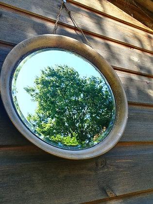 Outdoor Garden Rustic Mirror by Accessorise My Garden
