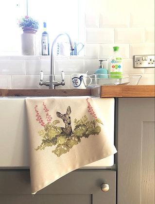 """Summer Shade"" Tea Towel (Seconds) by Claire Medhurst Art"