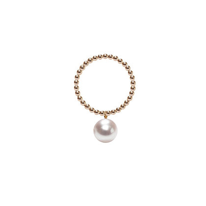 ORB RING - WHITE PEARL