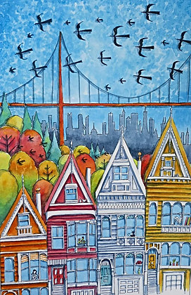 """The Golden Gate Bridge"" by Judit Matthews"