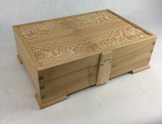 Lacewood Jewellery Box