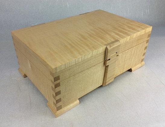English Rippled Sycamore Box