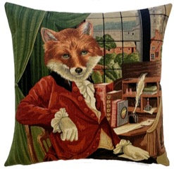 Fox Cushion by Susie Cooper