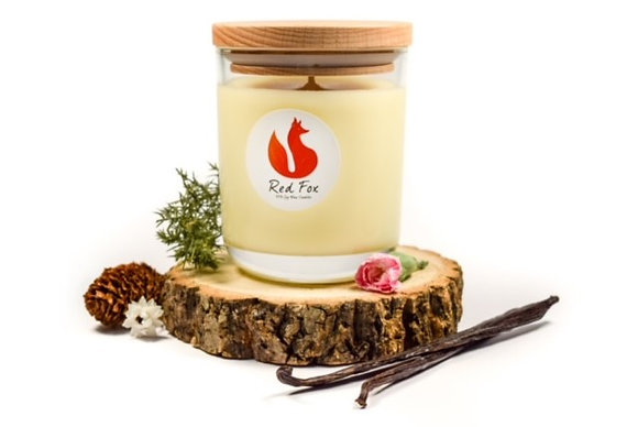 Vanilla and Patchouli Candle by Red Fox
