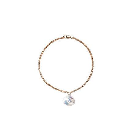 Mermaia Keshi Bracelet Gold