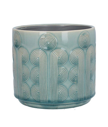Circular Ceramic Plant Pot Cover