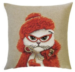 Cat Cushion by Susie Cooper