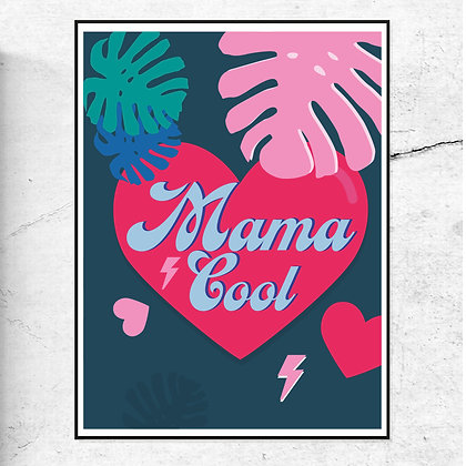 Mama Cool - Art Print by DoodleMoo