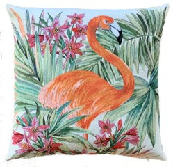 Flamingo Cushion  by Susie Cooper