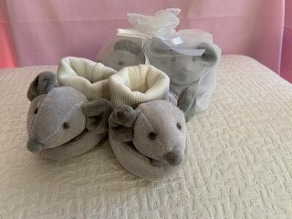 Soft Baby Booties by Susie Cooper Kids