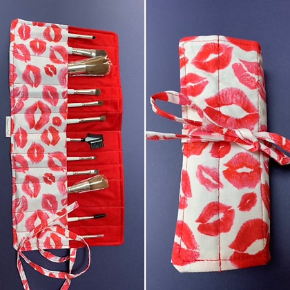 Make-up brush rolls by Thompson and Pooch