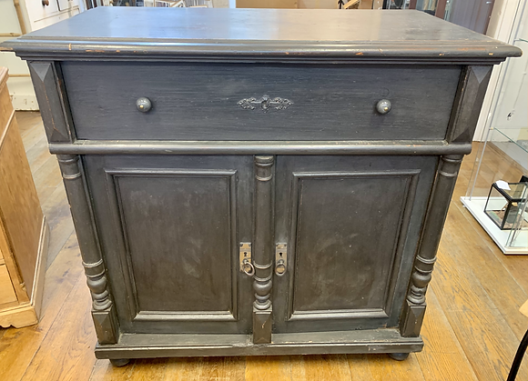 Cabinet with Large Draw and Double Cuboard