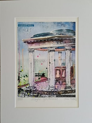 """""""Colley Hill - Inglis Memorial"""" by Julia Adams"""