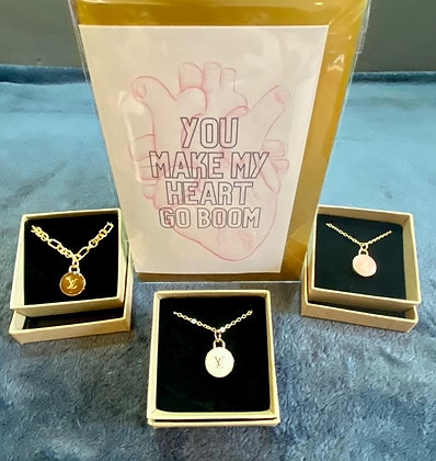 """""""LV Bag Charm Necklace"""" by The Stylistic"""