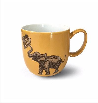Elephant Mug Ceramic