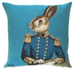 Hare Cushion by Susie Cooper