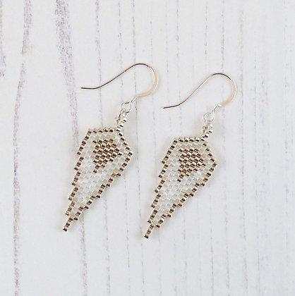 Guardian Angel Wing Earrings by Beau Bella Jewellery