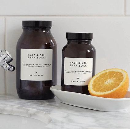 Luxurious Salt & Oil Bath Soaks From This Wild House
