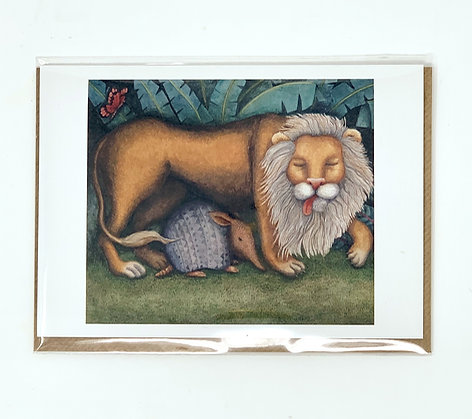 Jungle Lion from St Mary's Books