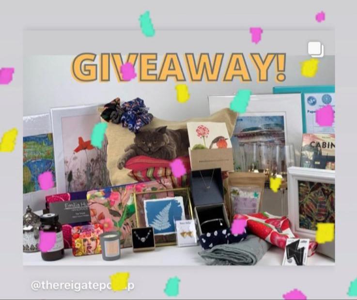 instagram image of the winner banner