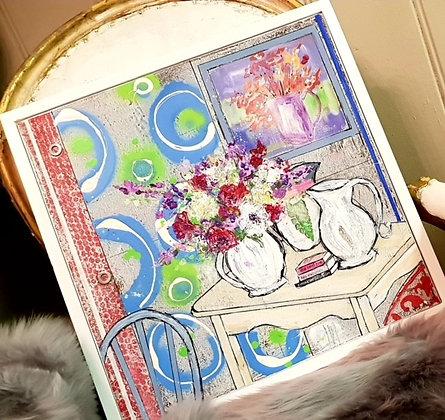 """""""Jugs and Circles"""" by Julia Adams"""