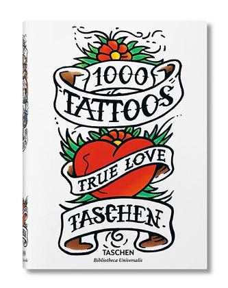 1000 Tattoos - True Love Taschen