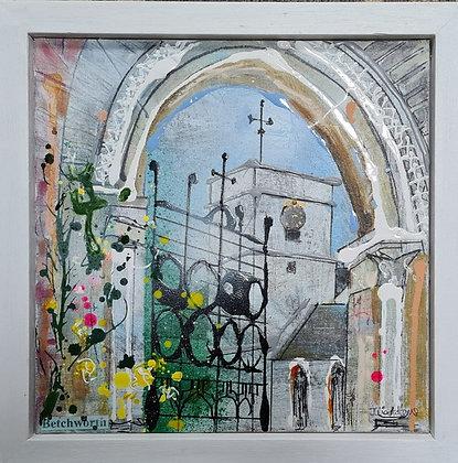 """""""Betchworth Church Gate"""" by Julia Adams"""