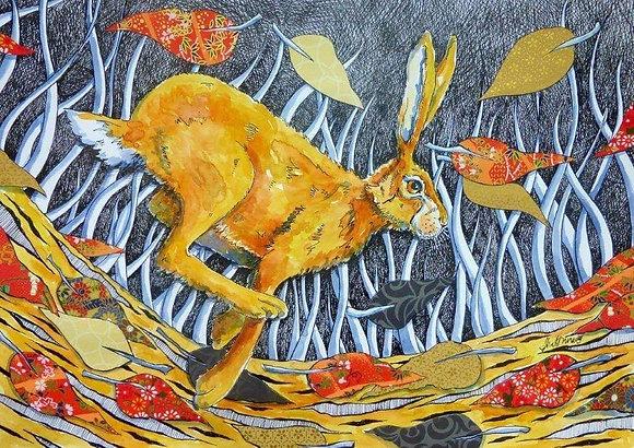 Judit Matthews  Art Autumn run