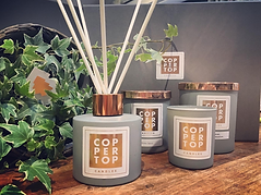 Reigate Pop Up Shop Coppertop Candles