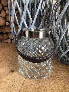 Glass lantern from Homebee