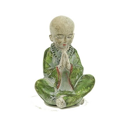 Little Monk Praying for Peace by Accessorise my Garden
