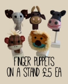 Finger Puppets by Susie Cooper Kids