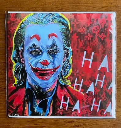Joker card 'Smile' by Marie O'Hara Art