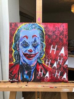 'Smile' Joker artwork by Marie O' Hara