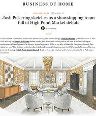 Business of Home Josh Pickering